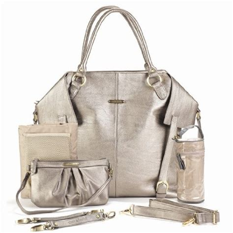 designer bags and diapers timi leslie designer bag in pewter