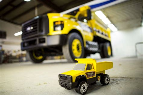 Mighty Ford F 750 TONKA Dump Truck Is Ready for Work or