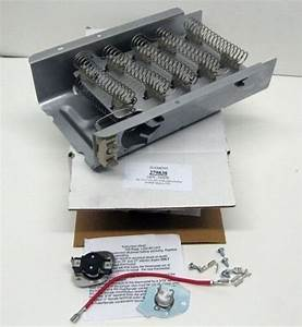 Dryer Heating Element Part Thermostat Dryers Whirlpool