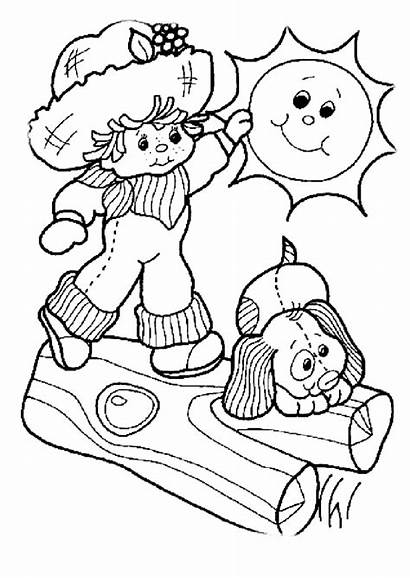 Coloring Children Pages
