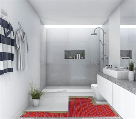 Modern Bathroom Heating by How Much Does Bathroom Underfloor Heating Cost Warmup