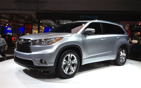 2014 Toyota Highlander First Look