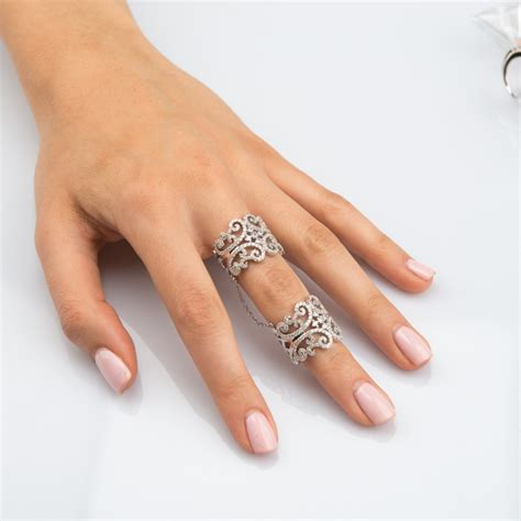 9 awesome full finger ring designs for women and men in india styles at life