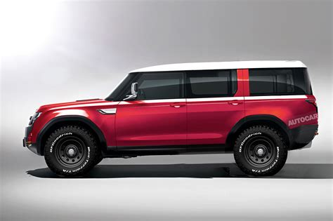New Land Rover Defender Will Be Brand's Most High-tech Car