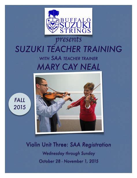 Suzuki Teachers suzuki buffalo suzuki strings