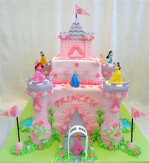 princess cake on birthday cakes princess castle cake