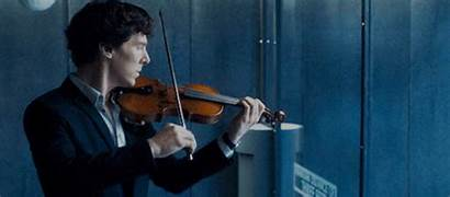 Violin Sherlock Playing