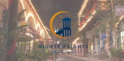 st augustine nights  lights