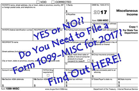 MISC : Yes Or No?? Do You Need To File A Form 1099-misc For 2017