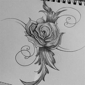 Love Flower Drawing Butterfly Love Flowers Tattoo Design ...
