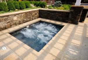 Backyard Inground Pools with Spa