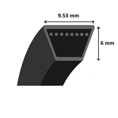 chambre a air brouette 3 50 8 courroie lisse trapézoïdale 3l400 section 9 53x6mm l