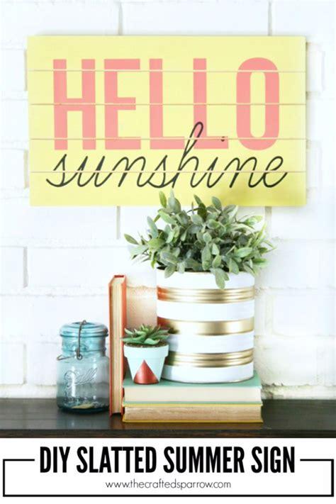 diys for summer 40 home decor diy projects for summer diy joy