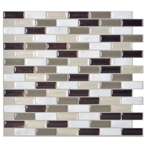 Murano Dune Mosaik Smart Tiles by Smart Tiles Mosaik Murano 10 20 Quot X 9 10 Quot Peel