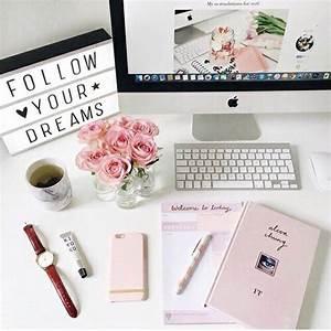 room decor cute desk organization for girls rose gold With cute teen desks