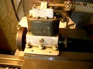 Boucher S62 Marine 2 Cylinder Live Steam Engine Model