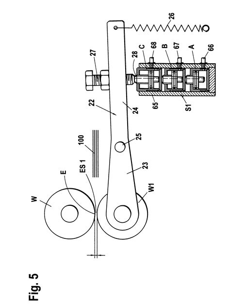 Patent US6475129 - Buckle folding machine with adjustable