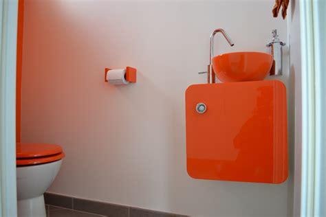 salon cuisine en l toilettes orange photo 5 6 3513531