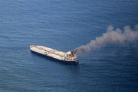 Warships Join Fight To Put Out Fire On Oil Tanker Off Sri ...