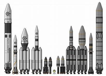 Rockets Kerbal Could Pixelart