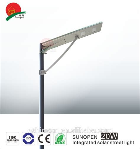 led solar and wind light compenent with low solar