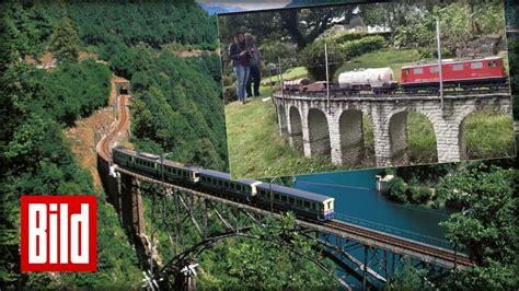 Modelleisenbahn  Schweizer Eisenbahn Im Garten Youtube