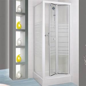 Porte De Douche Pliante : porte pliante supra ii 2s 90cm profil blanc verre ~ Melissatoandfro.com Idées de Décoration