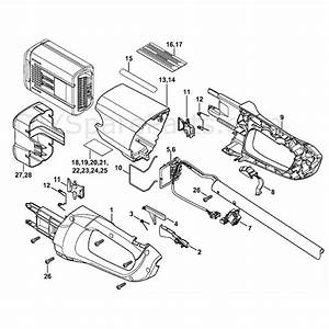 Stihl Fsa 85 Cordless Brushcutter  Fsa 85  Parts Diagram