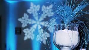 frozen centerpieces winter theme event lighting