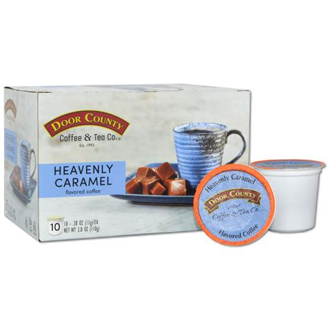 2 promo codes, and 7 deals for february. Door County Coffee Heavenly Caramel Flavored Coffee K-Cups - 10 Count - Walmart.com - Walmart.com