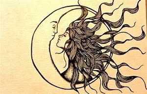 sun and moon on Tumblr