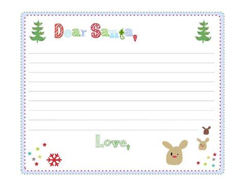 dear santa letter template dear santa letter templates