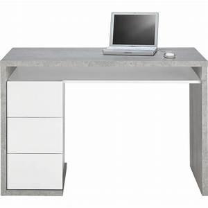 Schreibtisch Weiß Grau : schreibtisch in grau wei online kaufen m max ~ Frokenaadalensverden.com Haus und Dekorationen