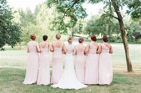 Pastel Chic Virginia Barn Wedding