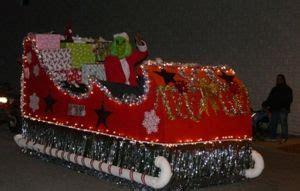 grinch sleigh float float ideas pinterest grinch