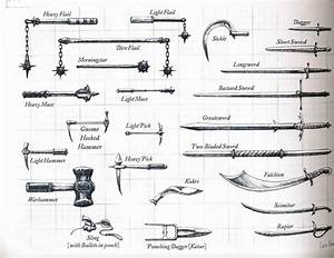 D&D Weapons - A Complete Guide - Master The Dungeon