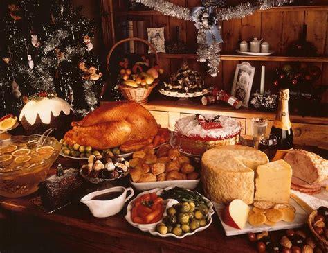 christmas banquet food xmaspin