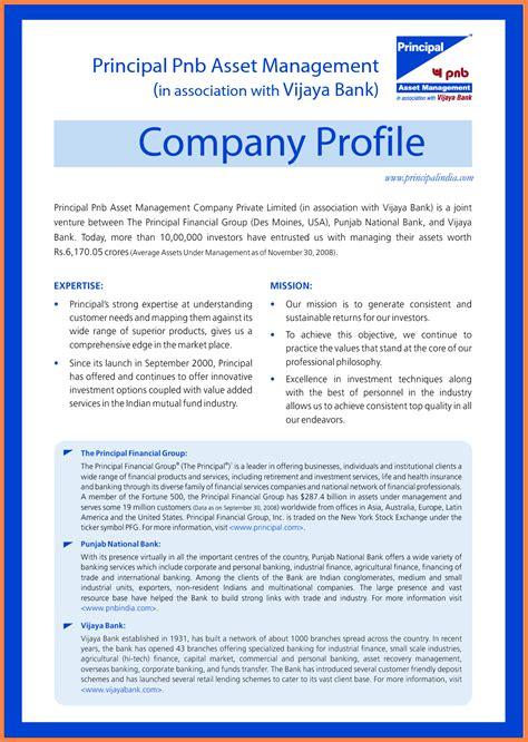 company profile template microsoft company letterhead