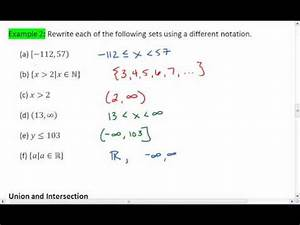 Download 1.2 (3 Of 5) Interval And Set Notation video mp3 ...