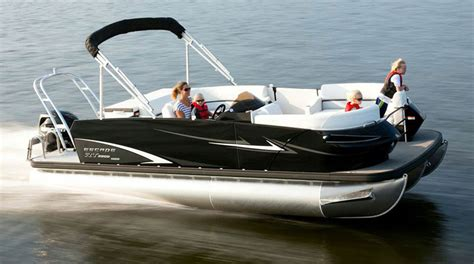 Who Owns Bennington Pontoon Boats by Escape Rt 220 Pontoon Boat Think Outside The Box Boats
