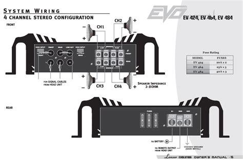 amazon com lanzar ev464 evolution series 3000 watt 4