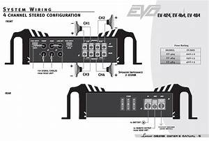 Amazon Com  Lanzar Ev424 Evolution Series 2000 Watt 4