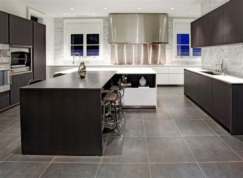 Large Grey Tile Kitchen Floor  Morespoons #e8f24ba18d65