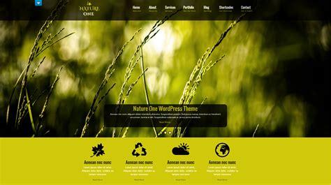 wordpress theme nature  doteasy wordpress
