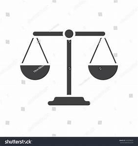Balance Icon (Flat Design) Stock Vector Illustration ...