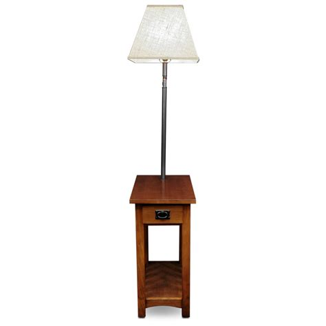 Amazonm Leick Mission Chairside Swing Arm Lamp Table