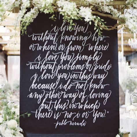 short  sweet love quotes   speak volumes   wedding martha stewart weddings