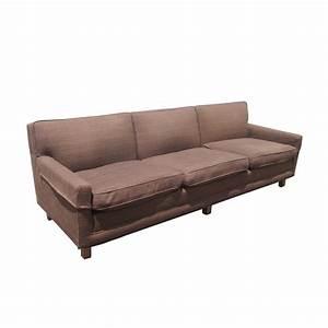 Vintage mid century modern down filled sofa ebay for Vintage mid century modern sectional sofa