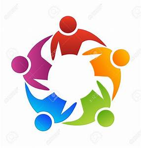 Teamwork Diversity Vector Icon Royalty Free Cliparts ...