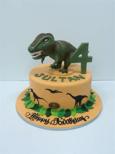 rex cake  cake creations dinosaur birthday cakes